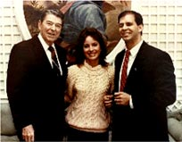 President Ronald Reagan, Janie and Bobby Smith